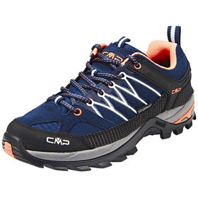 CMP Campagnolo Rigel Low WP Trekking Shoes Women black blue-giada-peach